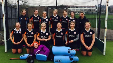 The Sidmouth and Ottery Hockey Club ladies 1st XI