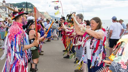 Sidmouth folk festival 2016. Ref shs 31-16TI 5703. Picture: Terry Ife