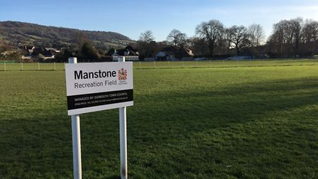 Sidmouth Town Football Club grounds