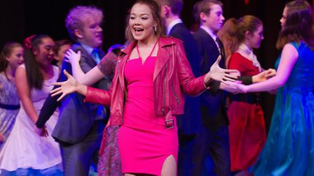 Sidmouth Youth Theatres production of Happy Days The Musical. Ref shs 05-17TI 6382. Picture: Terry I