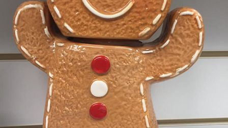 The manager at WESC's Sidmouth shop said a gingerbread man biscuit tin was taken on Saturday.
