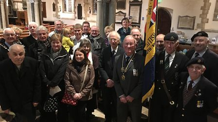 Service held in parish church to honour Sidmouth's forgotten war hero