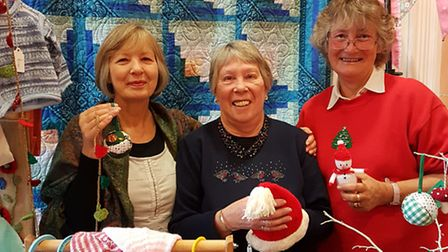 Members of Sidford WI at a previous craft event