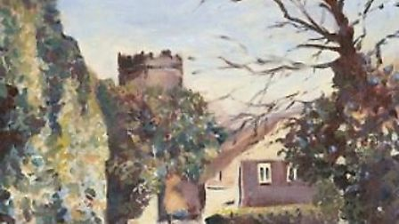 The spring exhibition at East Devon Art Academy includes a wide range of local scenes.