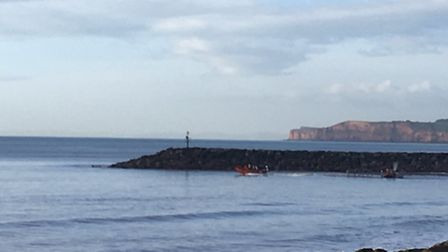 Sidmouth Lifeboat was launched again this morning to continue search for missing Tanya Vickery