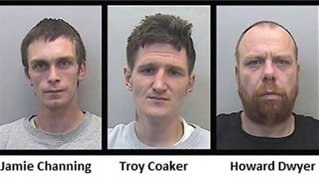 Sentenced: Jamie Channing, Troy Coaker and Howard Dwyer