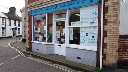 Sidmouth Fabrics and Haberdashery in Mill Street