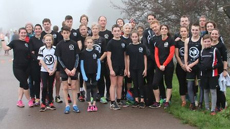 N1 Tri Club mmebers at a recent Exeter Parkrun meeting