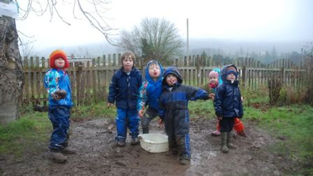 Wet and wild fun with The Byes Pre-school