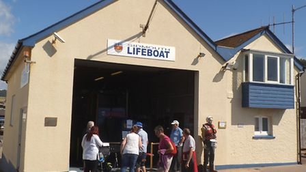 Sidmouth Lifeboat Station on The Esplanade