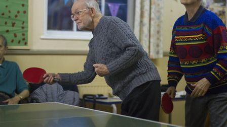 John Clapham, a former table tennis champion, has suffered many strokes but becomes a different play