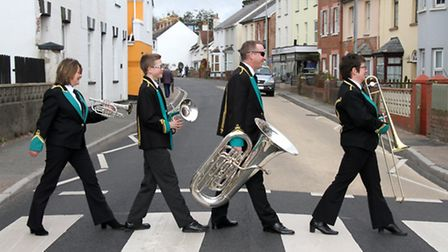 On the move - Sidmouth Town Band is relocating to St Francis Church Hall. Ref shs 14-16SH 9685. Pict