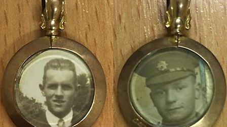 This army cap badge has been in a drawer at the Rose Lawn Care Home for years