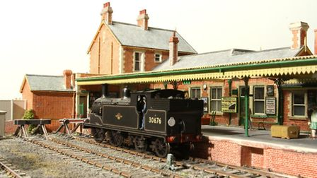 A still of part of the model railway heading to Sidmouth this summer. Credit: Barry Norman (on behal