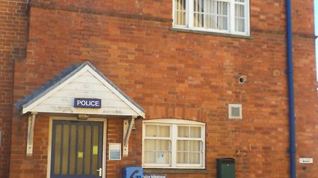 Sidmouth Police Station on Woolcombe Lane