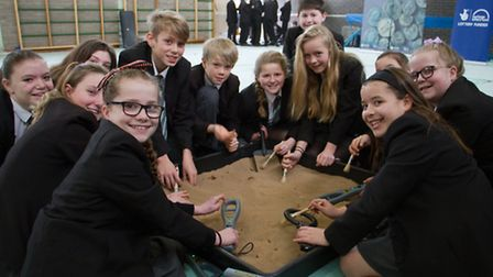RAMM visit at Sidmouth College. Ref shs 08-17TI 7708. Picture: Terry Ife