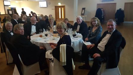 Guests looking relaxed and enjoying the atmosphere at Sid Valley Rotary Club's gala dinner which fea