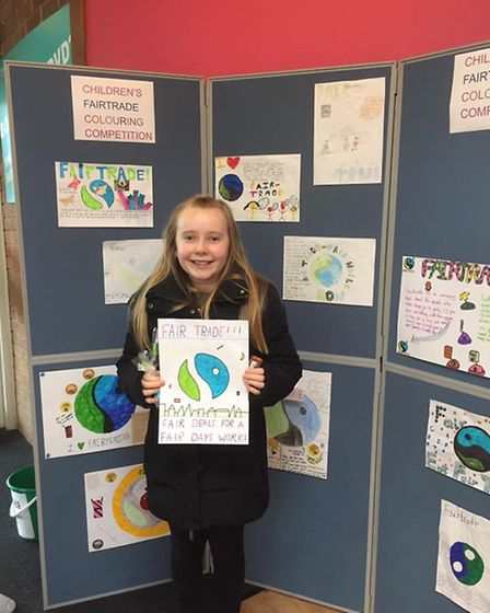 Jessica Bryher came second with her poster