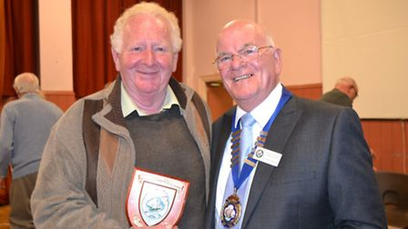 The late Barry Fearn won the prestigious honour of Ottery Citizen of the Year in 2015