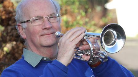 Woolbrook resident Trevor Heynes is hoping to start up a day time band. Ref shs 5537-04-15SH. Photo