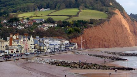 View of Sidmouth seafront. Picture: Alex Walton. Ref Sidmouth view 1