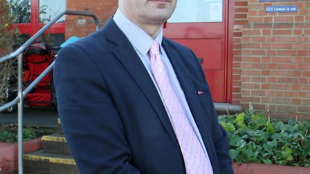 Head teacher of Newton Poppleford Primary School, Stuart Vaughan. Ref shs 3053-50-14AW. Picture: Ale
