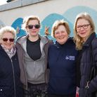 Sidmouth Coastal Community Hub CIC members Kay Davies,Coco Hodgkinson, Mary Bagwell and Louise Cole.