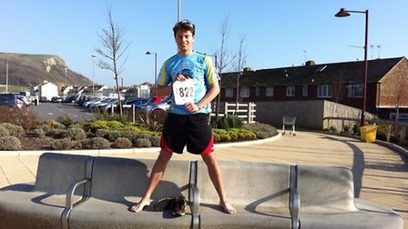 Jack Dicks, who 'fell in love' with combating food wastage, is set to run a half marathon fuelled by