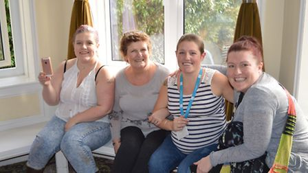Faye Thompson has hailed her family's Brave the Shave as 'amazing' after exceeding expectations and