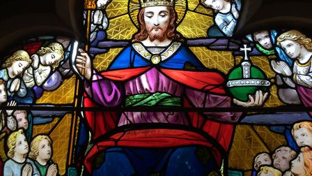 Work on the Queen's Window at Sidmouth Parish Church has now been completed