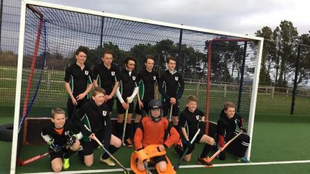 The Sidmouth and Ottery Hockey Club Under-14 team
