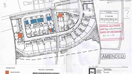 Plans for the site off King Alfred Way were approved on appeal