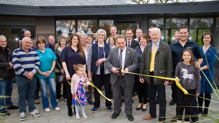 The opening of the refurbished Oakdown Holiday Park reception. Ref shs 14 17TI 0057. Picture: Terry