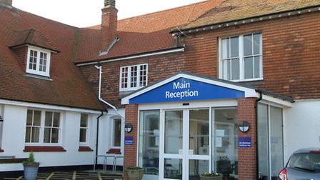 Sidmouth Victoria Hospital Ref shs 3262-50-14AW. Picture: Alex Walton.