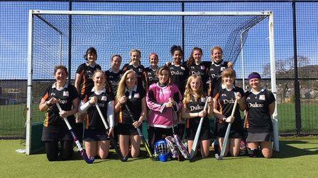 SOHC ladies secodn XI named the SOHC Team of the Year at the club awards night