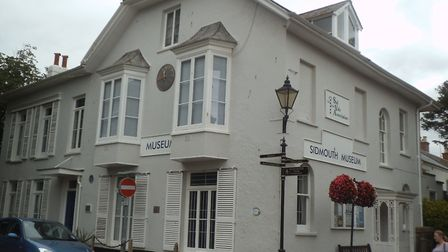 Sidmouth Museum on Church Street