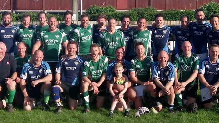 The annual Nick Baker Memorial match was played at the Blackmore and the players joined the Baker