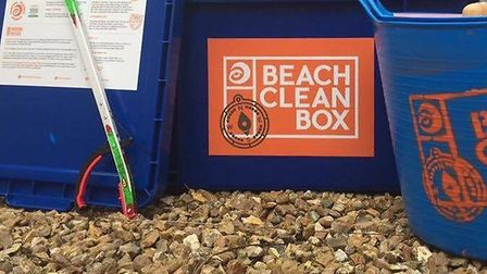 Surfers Against Sewage led a beach clean in Sidmouth on Saturday