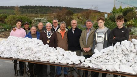 Jeff Turner joins the helpers on Good Friday. Ref: Archant 7990 140417 Good Friday