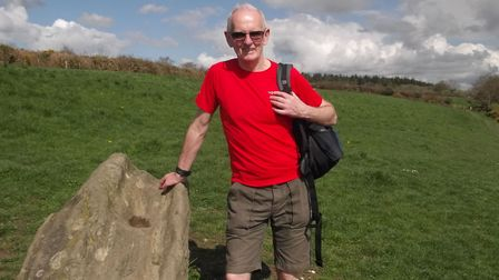 John Sharples will be taking on a 500 mile challenge from France to Spain in aid of Parkinson's UK.