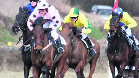 Racing at Ottery St Mary.