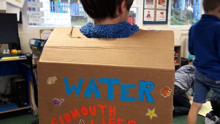 St John's School raised money for WaterAid and Sidmouth Lifeboat on World Water Day