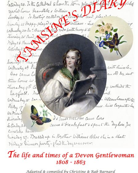 Tamsines Diary the life and times of a Devon Gentlewoman 1808-1863 is now available from Sidmouth Mu
