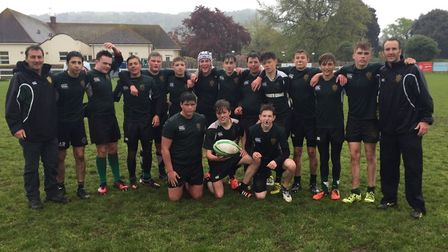Sidmouth Under-15s at the end of another season
