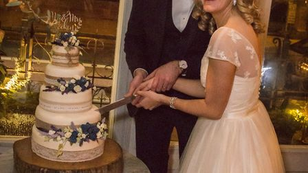 Emily and Steve Rockey married at Gee's restaurant in Oxford. Photo by Andy Cracknell