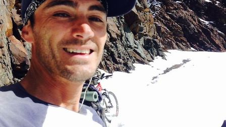 James Taylor has cycled to South America on his cycle round the world.