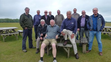 The May course at the Devon and Somerset Gliding Club