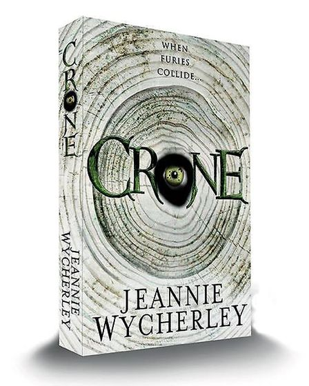 The artwork for Jeannie Wycherley's Crone by Jennie Rawlings at Serifim