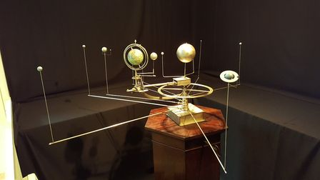 The restored orrery at the Norman Lockyer Observatory