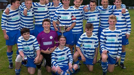 Ottery St Mary thirds with the Golesworthy Cup. Picture: ANTHONY ROWE PHOTOGRAPHY